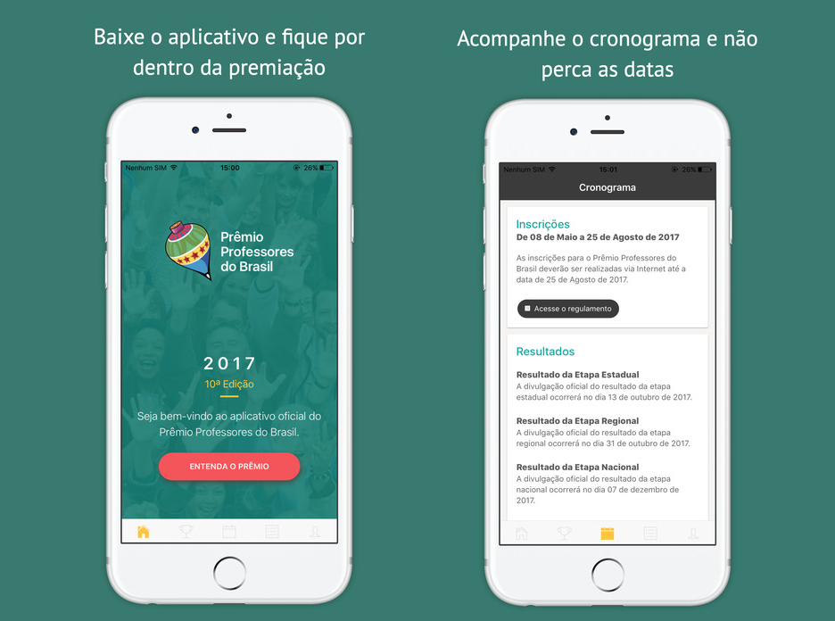Prêmio Professores do Brasil: tá na mão!