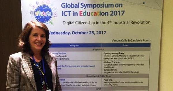 Em Seul, CIEB participa de Simpósio global de tecnologia para a educação