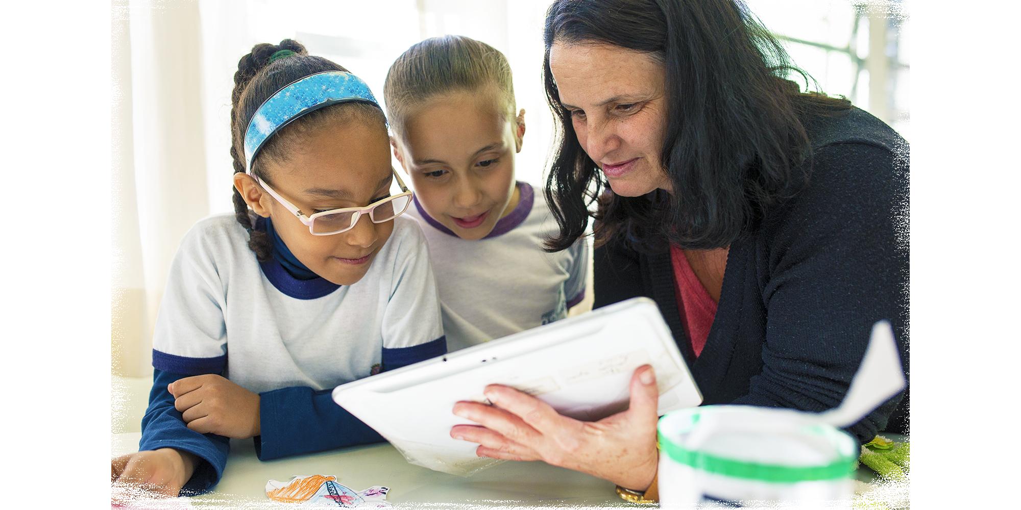 Os professores estão mais interessados em tecnologia