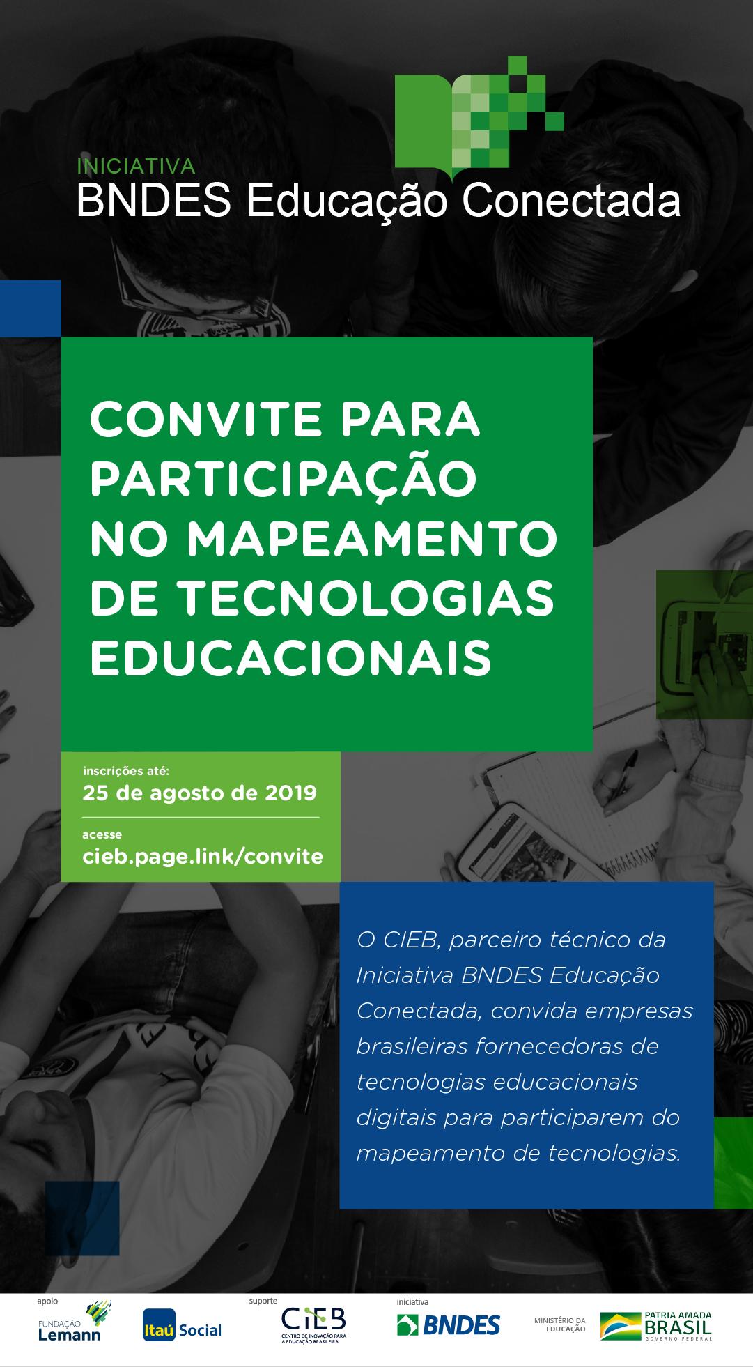 CIEB convida empresas a participar de mapeamento de tecnologias educacionais